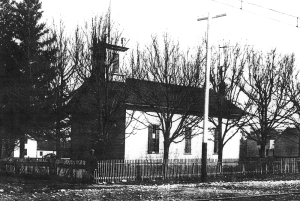 Our first church building